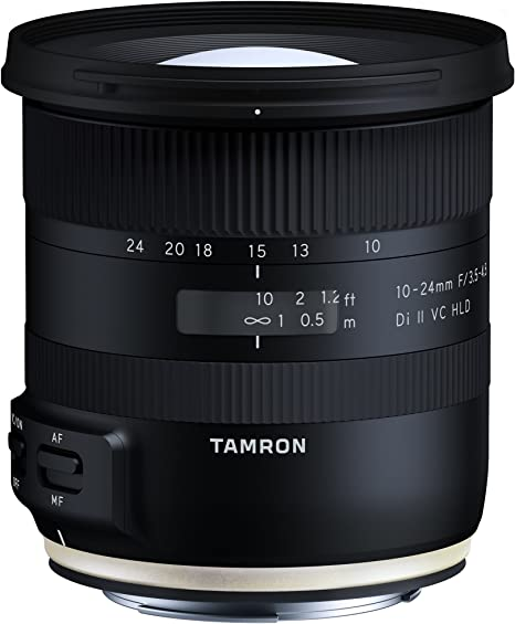 Tamron B023 - Objetivo para cámara Canon (10-24 mm, F/3.5-4.5, Di ...