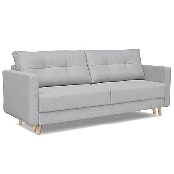 sofa furniturer canape 3 places canape lit pour 2 personnes canape droit en tissu convertible avec - Canape Tissu Convertible
