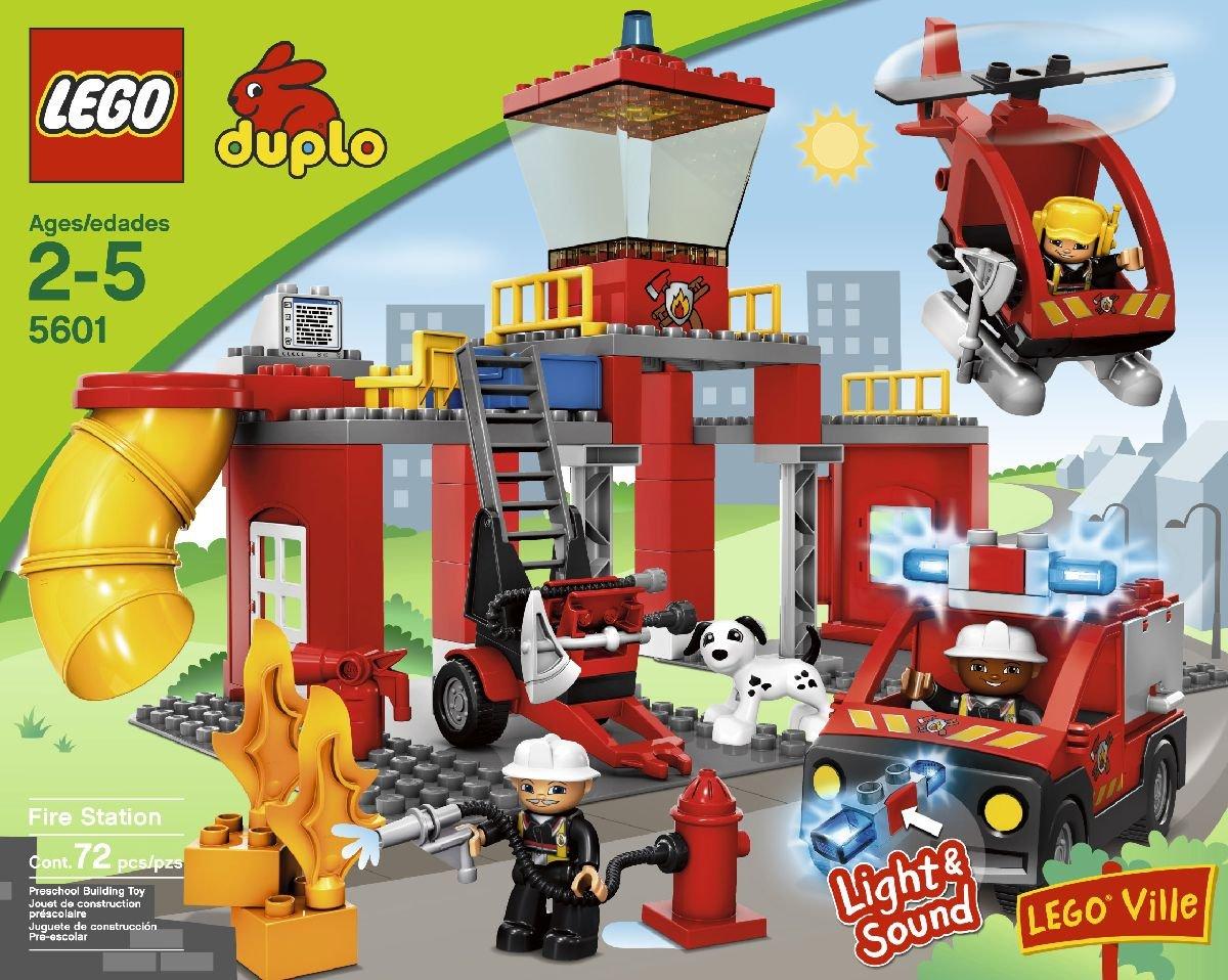 Amazon Lego Duplo Legoville Fire Station 5601 Toys Games