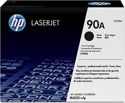 4 TONER CARTRIDGE FOR HP CE390A LASERJET M4555 600 M601 M602 M603 ENTERPRISE 90A