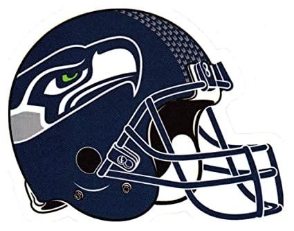 Amazon Com 4 Pack Seattle Seahawks Die Cut Stickers Nfl