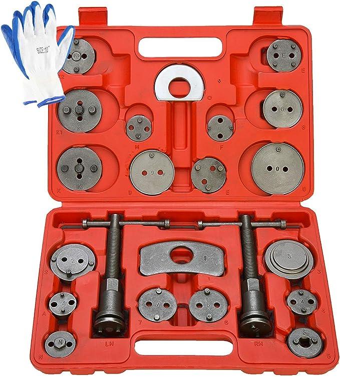 8MILELAKE 18pcs Disc Brake Caliper Wind Back Tool Kit
