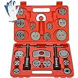 8MILELAKE Disc Brake Caliper Compressor Wind Back Tool 24pc Professional Disc Brake Caliper Tool Set