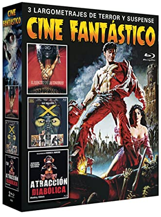 Pack Cine Fantástico 3 Blu Rays [Blu-ray]: Amazon.es: Bruce ...
