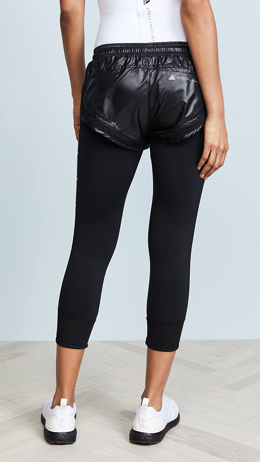 df60f94fffd adidas by Stella McCartney Women's Performance Essentials Shorts Leggings  at Amazon Women's Clothing store: