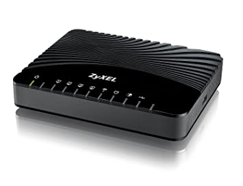 Zyxel VDSL2 Wireless Modem with 4FE LAN Ports, 1 USB Port