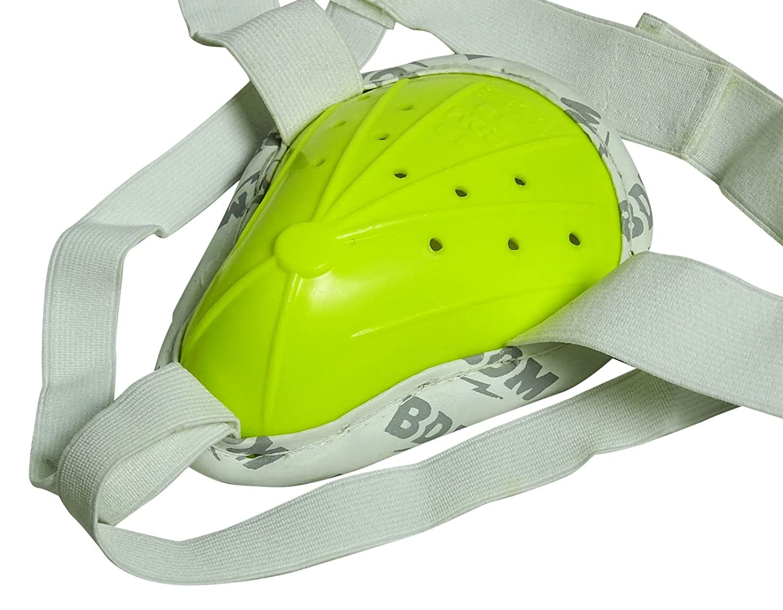 Amazon.com : BDM Admiral Test Grade Green Cricket Abdominal Guard Groin Protector Protection : Sports & Outdoors