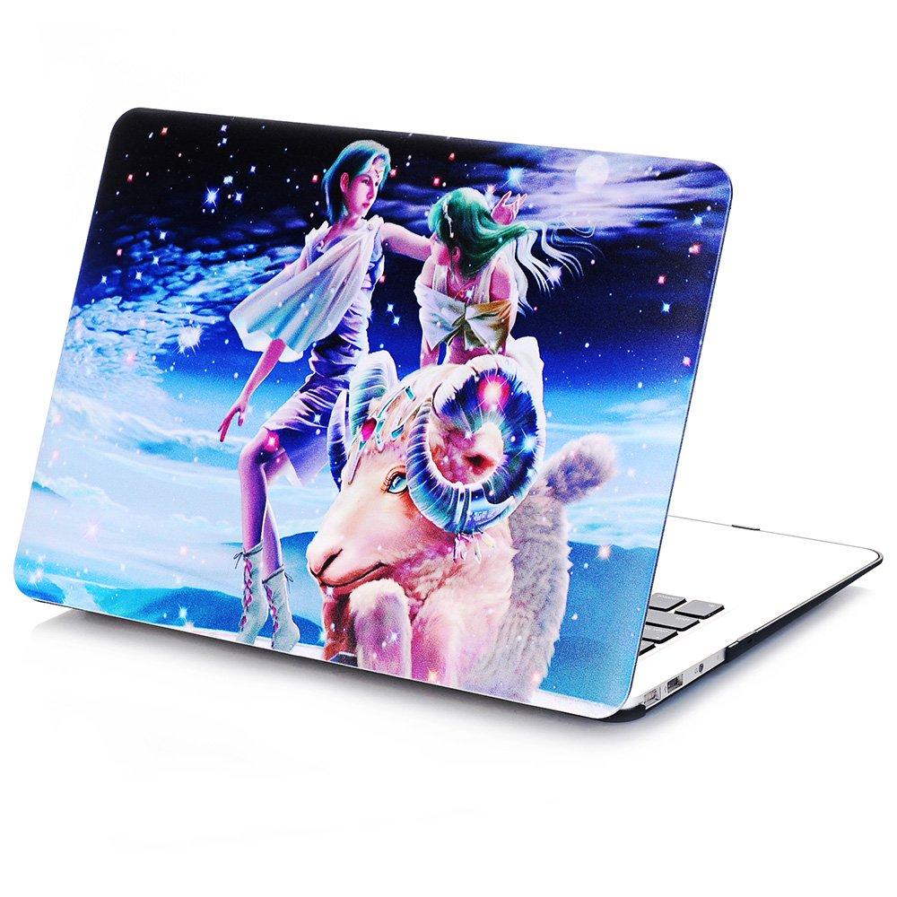 Macookケース、アイビーHardshellケースカバーfor MacBook withキーボードスキン 13-inch MacBook Air IVYZodiacAir1302 B073GYLWFJ