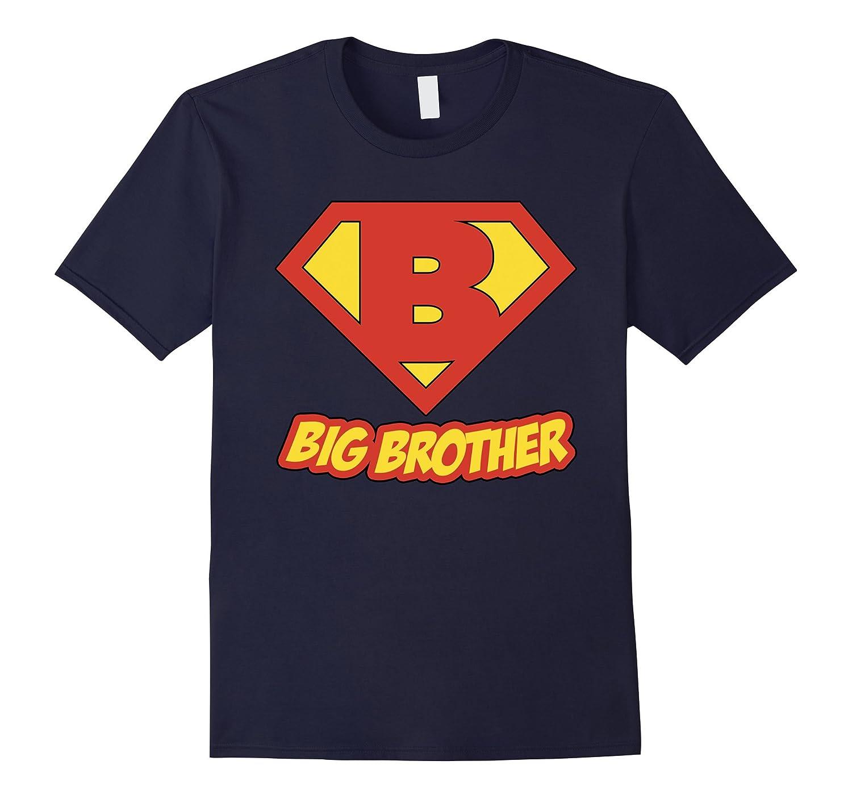 Big Bro Brother Superhero T Shirt - Super Hero Mens Gift Tee-TD