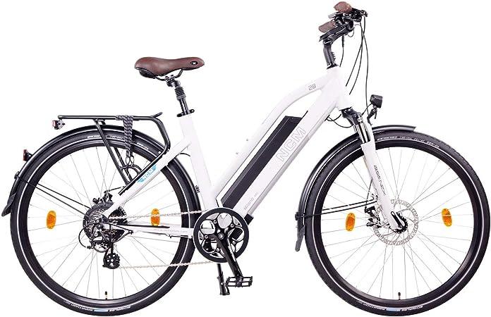 NCM Milano Bicicleta eléctrica de Trekking, 250W, Batería 48V 13Ah 624Wh (26