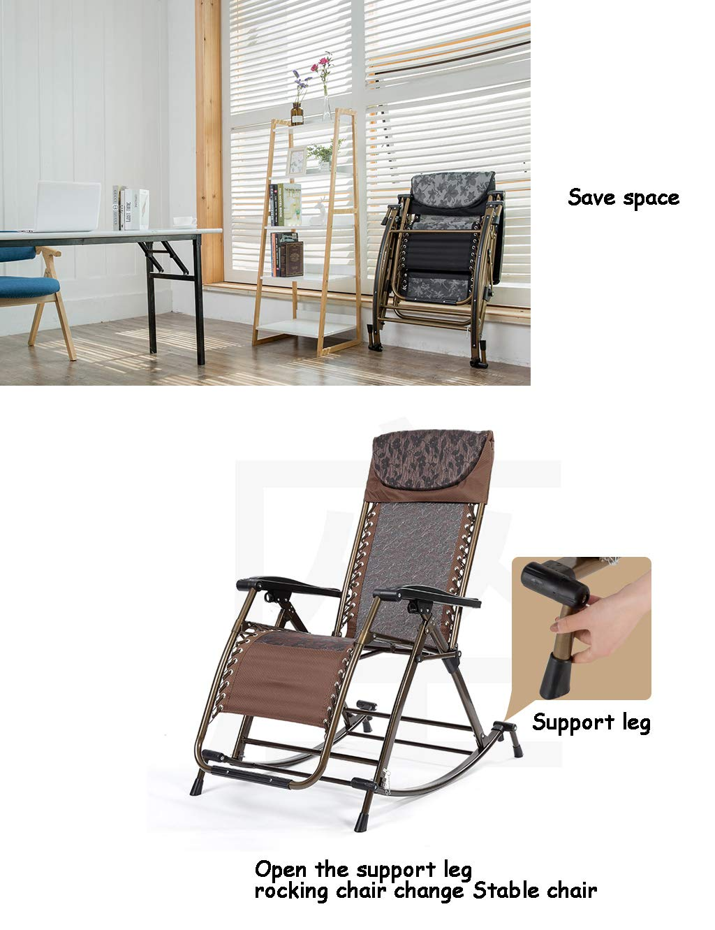 Amazon.com: Relax Rocking Chair Perfect for Outdoor or ...