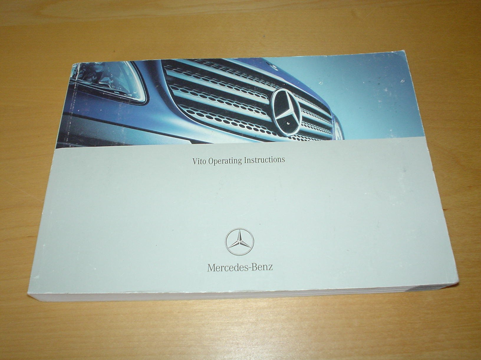 MERCEDES BENZ VITO W639 OWNERS MANUAL HANDBOOK (2003 - 2011) - 109 CDI /  111 CDI / 115 CDI / 119 / 122 - OWNER'S HAND BOOK MANUAL: Amazon.co.uk:  MERCEDES ...