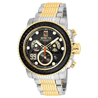a96f365fb Image Unavailable. Image not available for. Color: New Mens Invicta 25677  Jason Taylor Hall of Fame Swiss Chronograph Watch