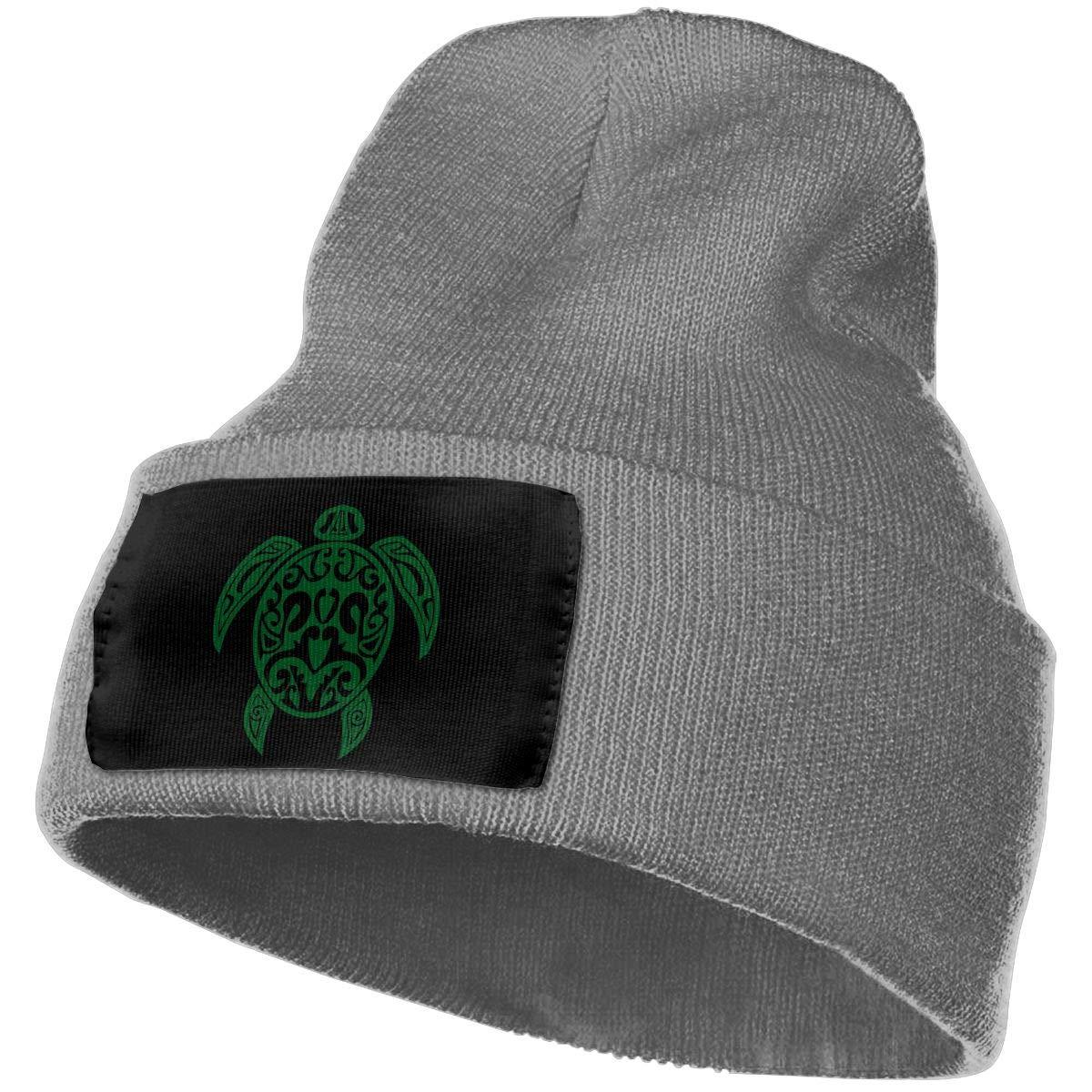 Unisex Hawaiian Sea Turtle Outdoor Fashion Knit Beanies Hat Soft Winter Skull Caps