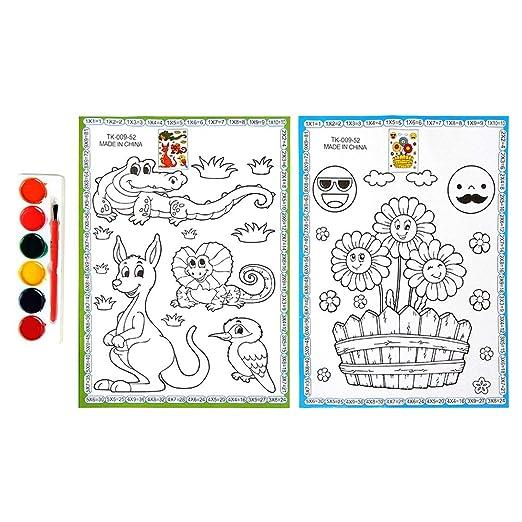 Dibujo Para Ninos Colorido Educacion De La Primera Infancia