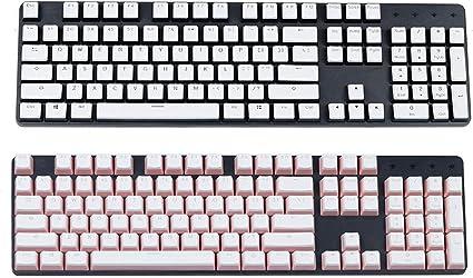 F-Mingnian-rsg Partes del Teclado keycap 104 Key Cap Teclado ...