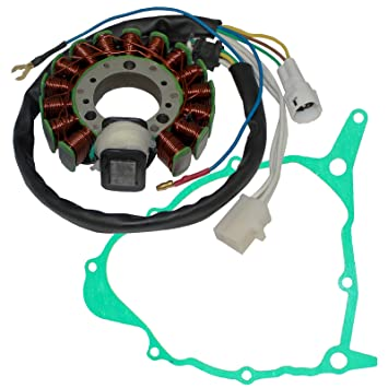 amazon com caltric stator and gasket fit yamaha serow 225 xt225 xt rh amazon com 1981 Yamaha 250 XT Parts Yamaha XT225 Handguards