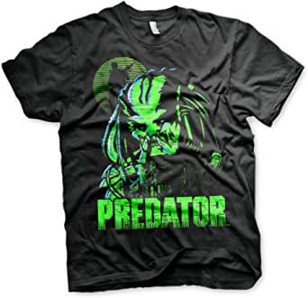 Officially Licensed Predator Baseball Big & Tall T-Shirt (Black)