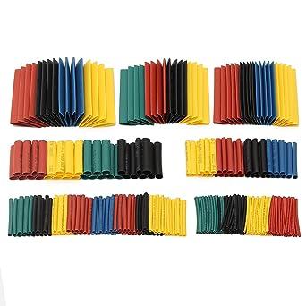 "Precut Pieces Choose Color /& Length 1//2/"" ID 2:1 Heat Shrink Tubing Polyolefin"