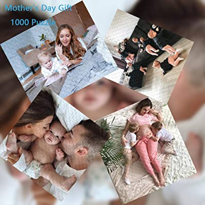 NUATE DIY Puzzle, Custom Photo Jigsaw Puzzle for Adults 1000 Pieces,Custom Puzzle Gift for Personalized Wedding and Family Photo Portraits B087PYVY43: Toys & Games