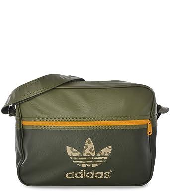 Adidas Airliner Bag Classic Street Night Olive Gold  Amazon.co.uk  Clothing edb855459f4ca