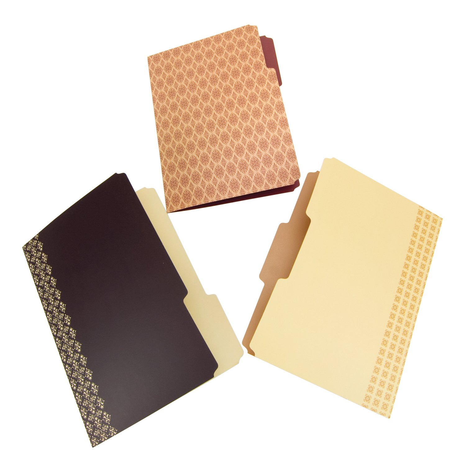Amazon.com : Wilson Jones Workstyle Decorative Casebound File ...