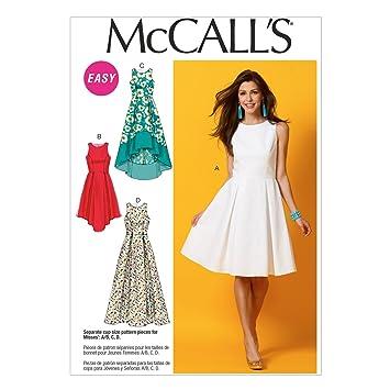 McCalls MC 6953 A5 (6-8-10-12-14) Schnittmuster zum Nähen, Elegant ...
