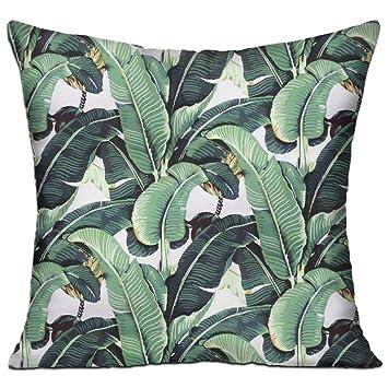 Amazon.com: Hoja de plátano de Martinica moda decorativo ...