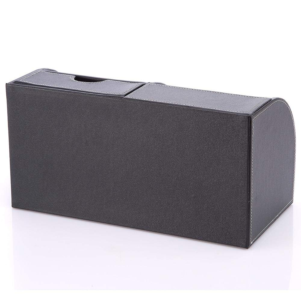 Amazon.com : 5-Slot Office Desktop PU Leather Storage Box ...