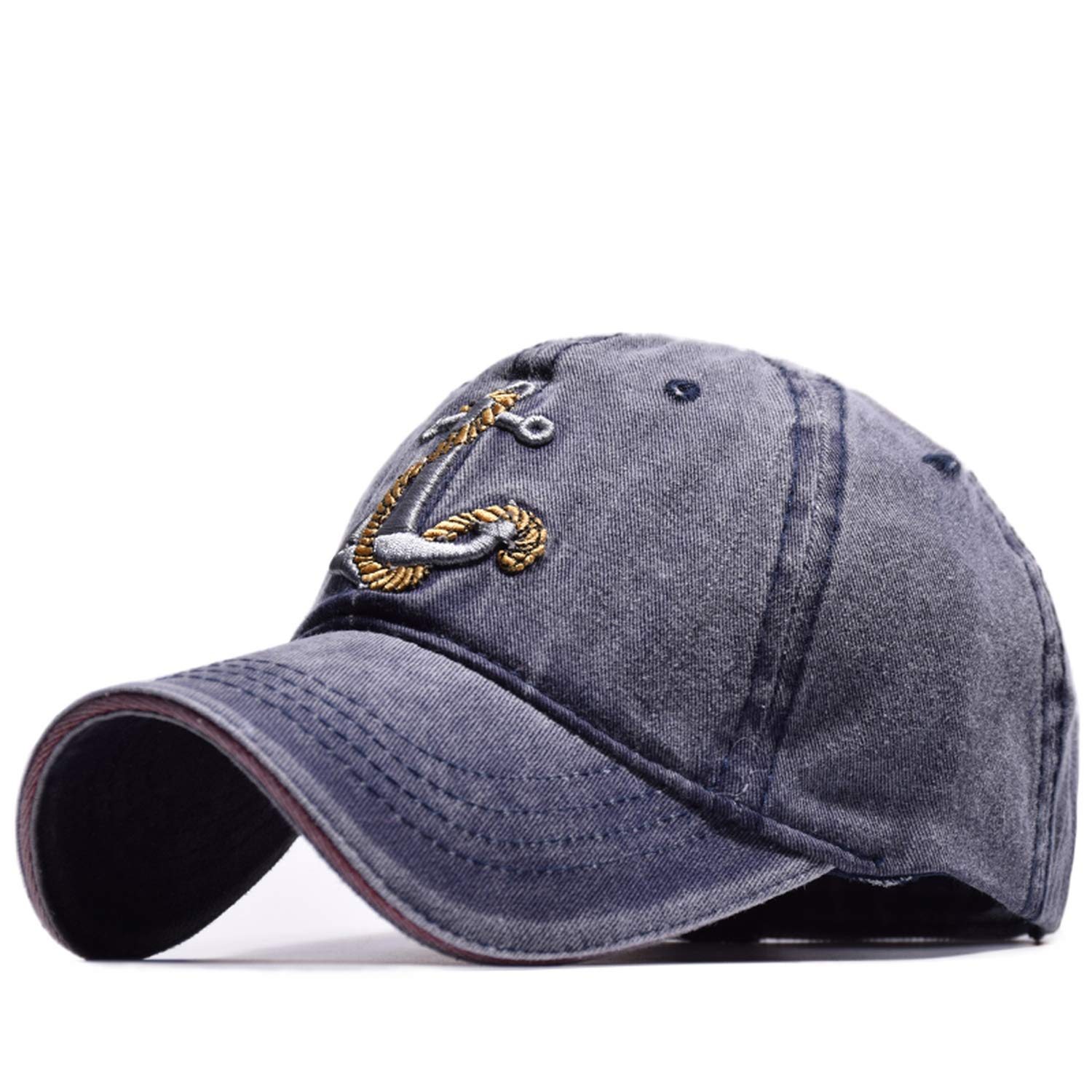 CHENTAI New Vintage Style Baseball Cap Old Pirate Ship Anchor Embroidery Snapback Fashion Sports Hat Men Women Sun Cap