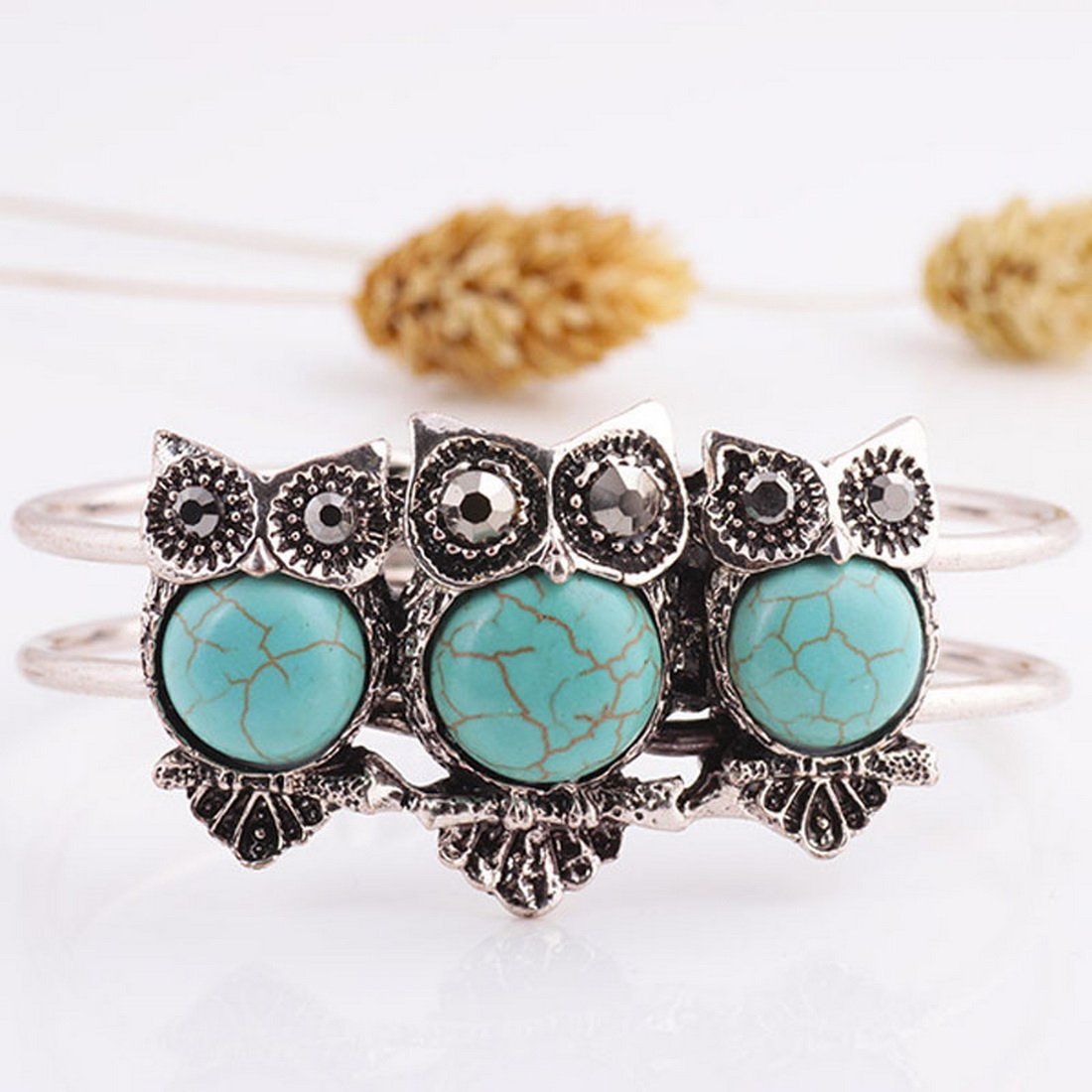 Thailand Owl Bracelet Bangle O...