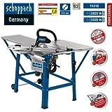 Scheppach 4901305901 Tischkreissäge TS 310, inklusiv Schiebeschlitten, 2200 W, 230 V