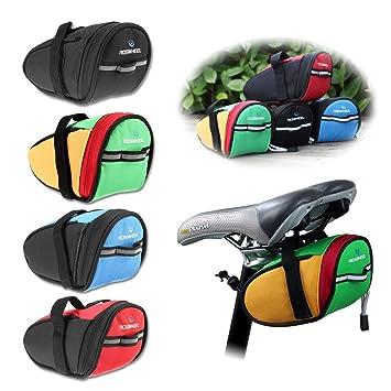 kinlo® Bolsa para sillín de bicicleta marco bolsa de bicicleta Bolsa ...
