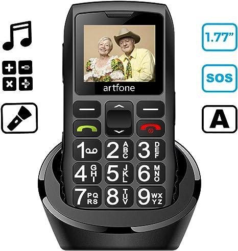 artfone Teléfono Movil para Personas Mayores con Teclas Grandes ...