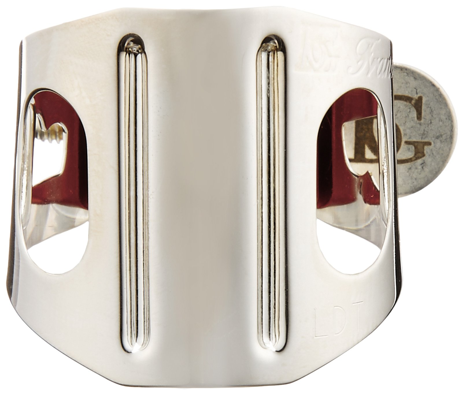 BG Duo Tenor Sax Ligature LDT Silver-Plated