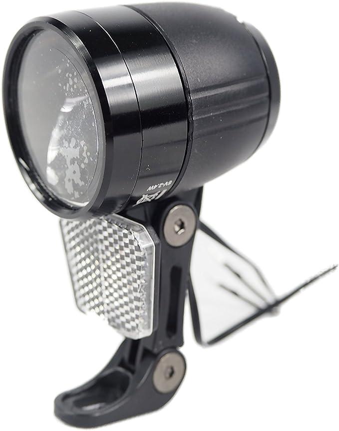 XCIS Faro LED para Bicicleta (Luz Iluminación vorderlicht 100 Lux ...