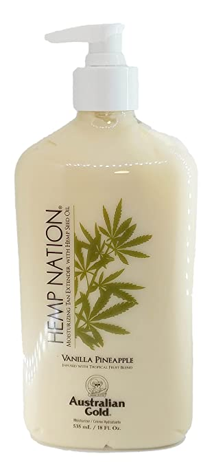 Hemp Nation Moisturizing Tan Extender by Australian Gold