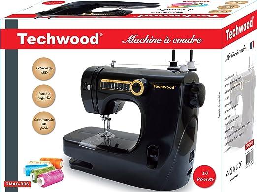 TECHWOOD TMAC-906 Máquina de Coser: Amazon.es: Hogar