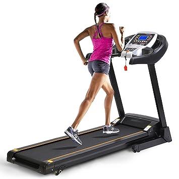 AMDirect Cinta de Correr Profesional 2.25PH 1000W Treadmill ...
