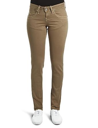 355a0cef40c4cc Fornarina Textil Damen Jeanshose/ Lang BER1E06D60183, Gr. 29, Grün (kaki)