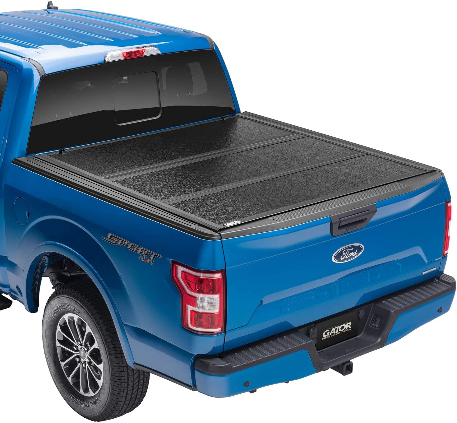 Amazon Com Gator Efx Hard Tri Fold Truck Bed Tonneau Cover Gc24019 Fits 2015 2020 Ford F 150 5 7 Bed 67 1 Made In The Usa Automotive