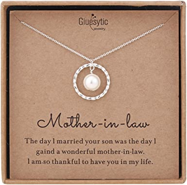 Future Mother in Law Mother of the Groom Necklace Mother of the Bride Necklace Wedding Gift Mother in Law Gift