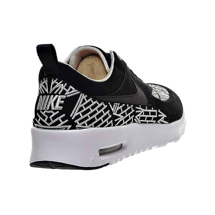 5948adbd76 Amazon.com | Nike Air Max Thea LOTC QS New York City Women's Shoes  Black/White 847072-001 (7 B(M) US) | Fashion Sneakers
