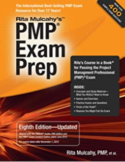Amazon the pmp exam how to pass on your first try fifth pmp exam prep eighth edition updated ritas course in a book for passing fandeluxe Choice Image