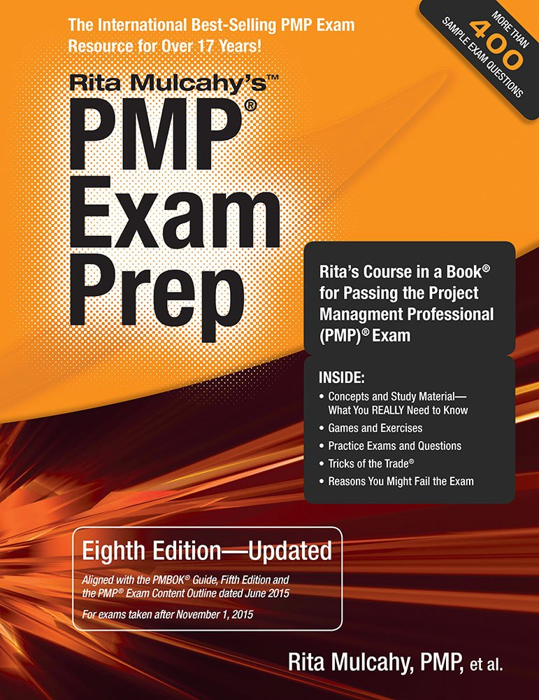 Pmp Exam Prep Eighth Edition Updated Ritas Course In A Book For