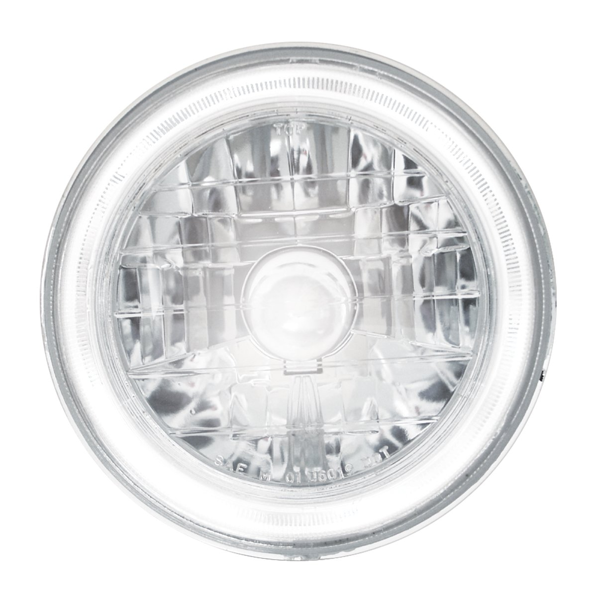GG Grand General 77411 Bulb (7'' Headlamp with H4 and Halo Feature, with 194 Blue)