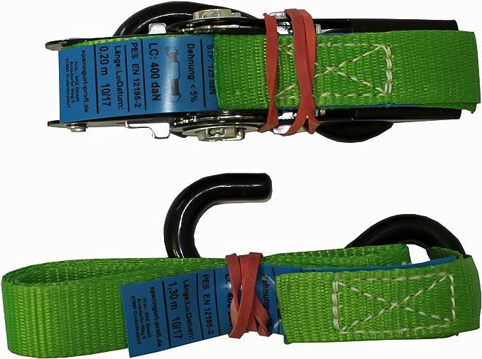 Shz 4 X Spanngurt Motorrad Motorradsicherung Zurrgurt Motorradgurte Sicherungsgurte 4 X 2 Teiliges Gurtsystem Motorradtransport 37 Auto