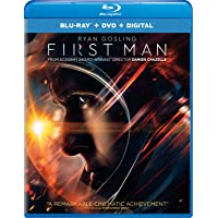 First Man Blu-ray