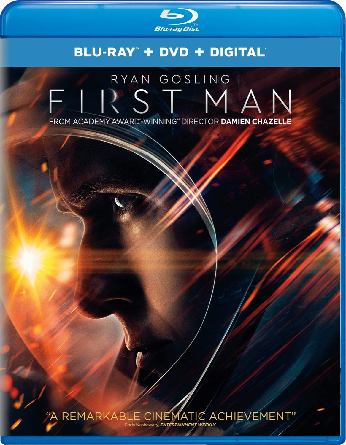 Blu-ray : First Man (With DVD, 2 Pack, Digital Copy)