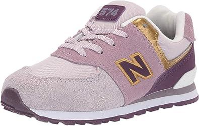 Kids Girls New Balance 574 Trainers Runners Lace Up Lightweight New